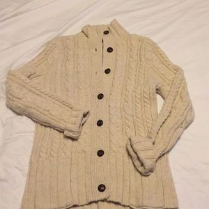 Duluth Trading Co Cozy Fisherman Cardigan